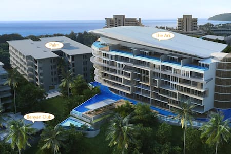 Sea Mountain View Karon Delux 2BDR+ 147sq.m. 6min.