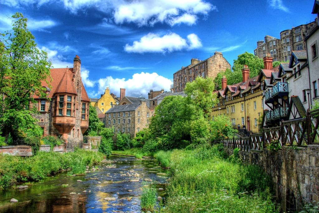 The Dean Village Summer Time