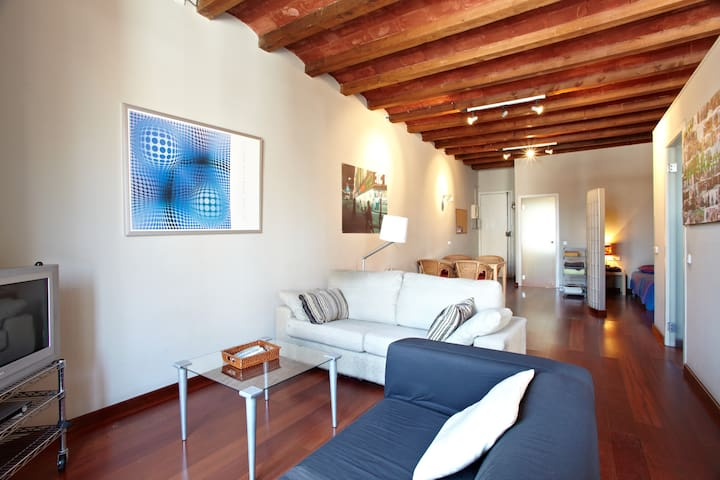 Cool loft style apartment in Sagrada Familia