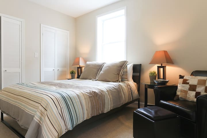 Spacious and comfortable bedroom