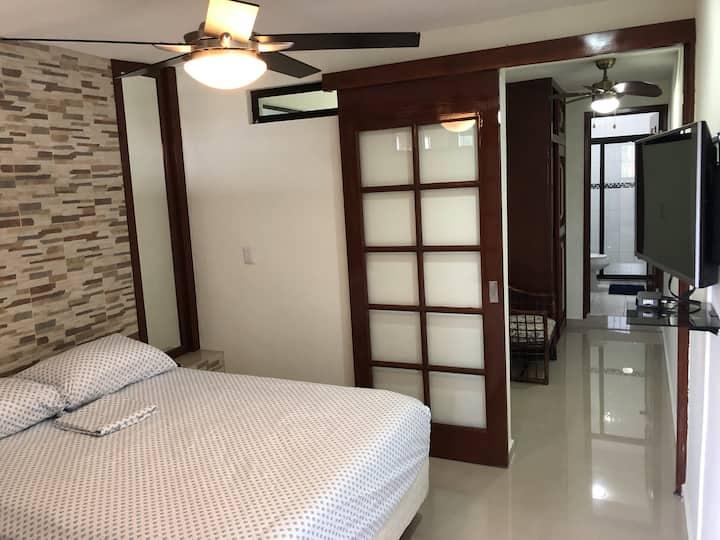Comfortable apartment 4 on 2º floor