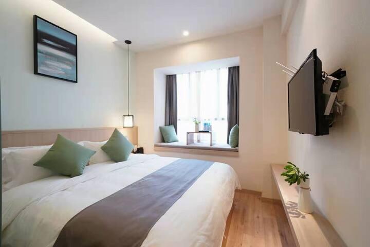 武夷山 绝美山景  温馨大床房-2 三姑度假区 印象大红袍