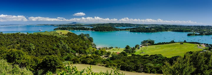 Te Whau Lodge - Best Views on Waiheke Island