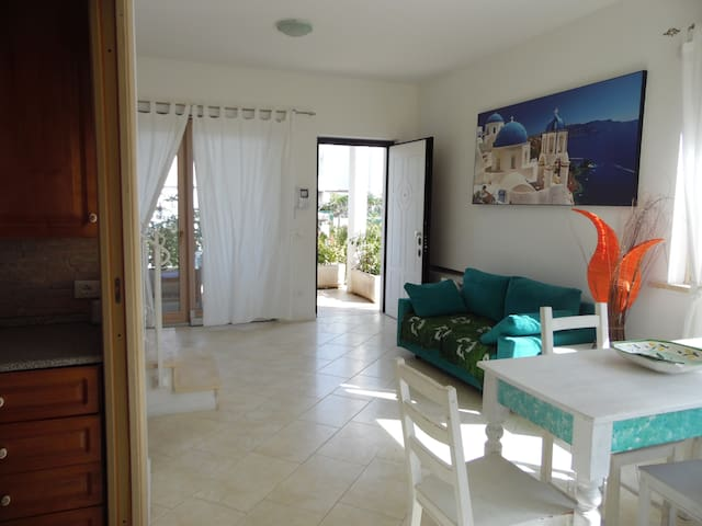 Nice villa only 100 metres from the sandy beach