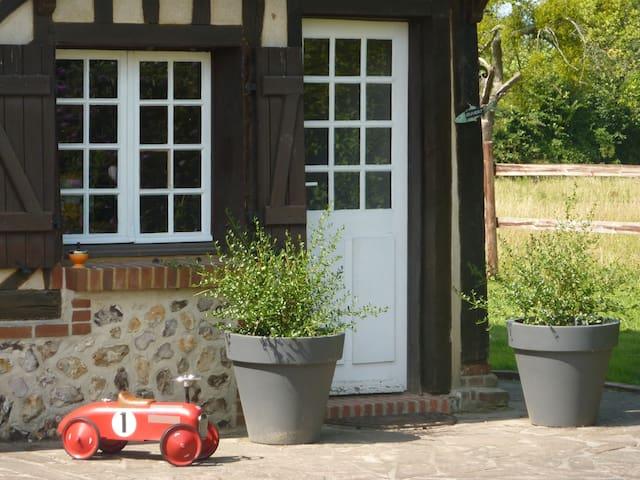Maison normande de caractère proximité honfleur - Foulbec - Huis