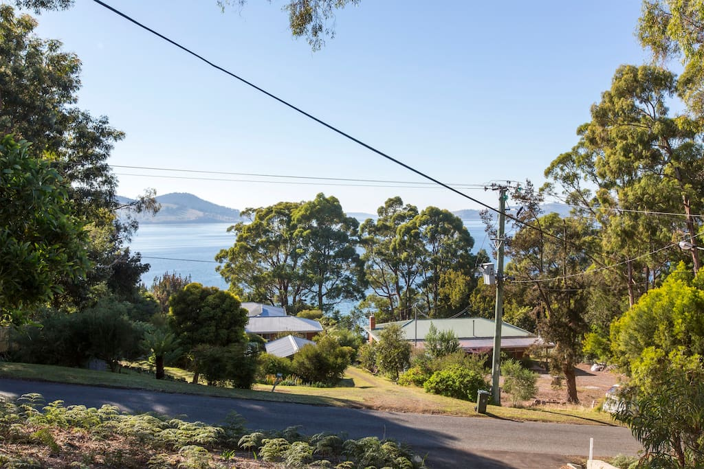 View overlooking North West bay from Coningham Beach House. Enjoy the serenity!