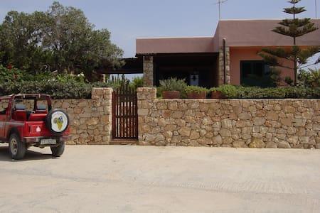 Deliziosa villa con vista a Lampedusa
