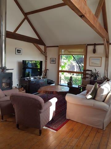 Open plan living area/kitchen/dinner