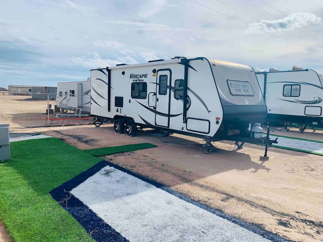 Modern RV on 12 Acres - Monahans, TX