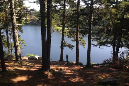 Rambling farmhouse with lake access - Waldoboro - Casa
