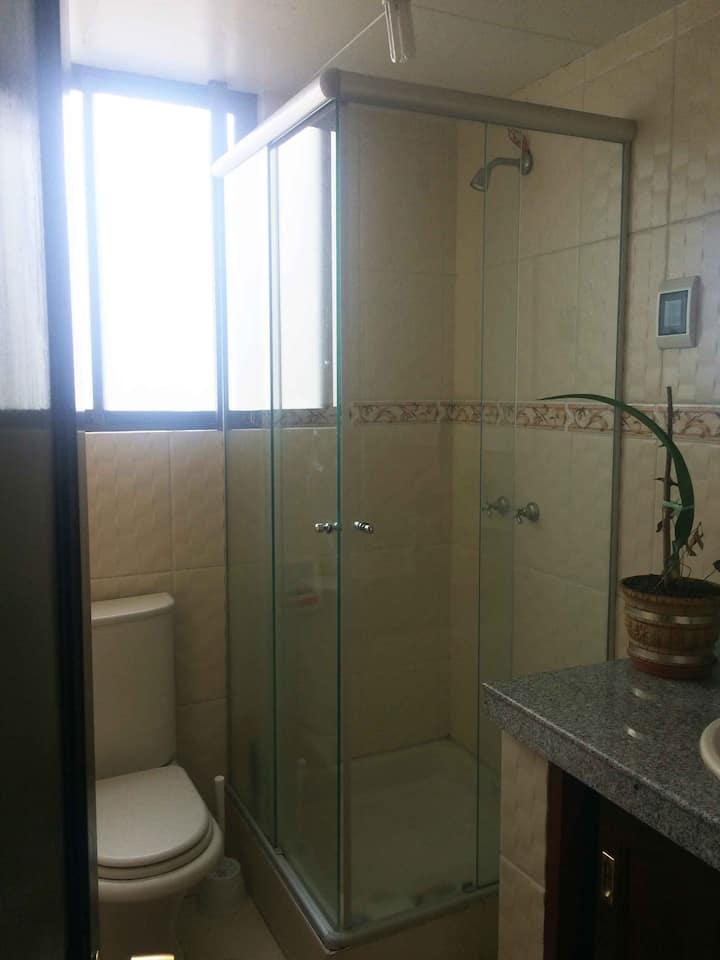 Downtown room with private bathroom