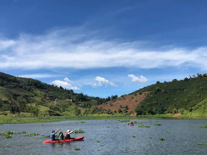 Cabaña para 6 personas, Peñol Antioquia