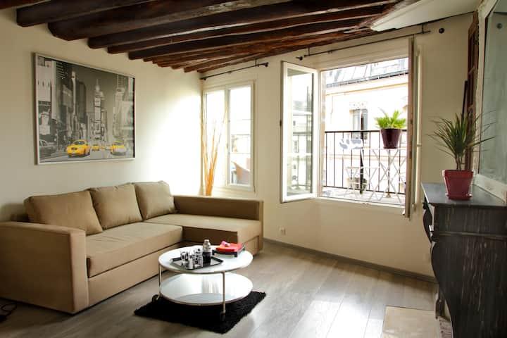 Apartment, Paris center, Marais