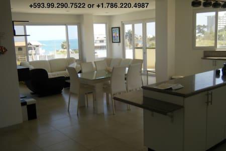 Beach condo with oceanviews/ Depto vista al mar - Salinas - Apartment