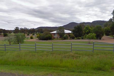 House on large block of land