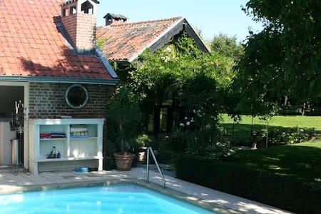 Charming farmhouse with pool! - Lanaken
