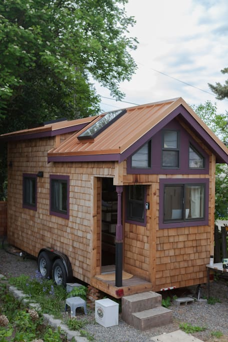 Tiny Home Designs: Stay And Check Out A Tiny House!