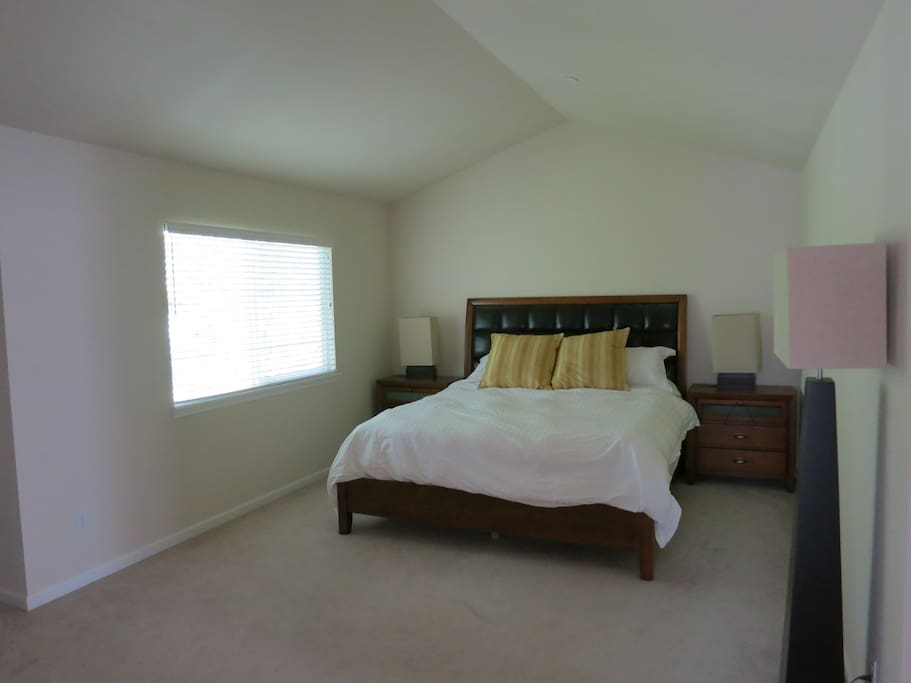 Master bedroom with own bathroom