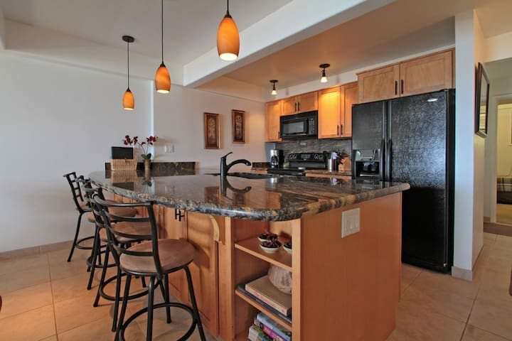 Upscale modern kitchen