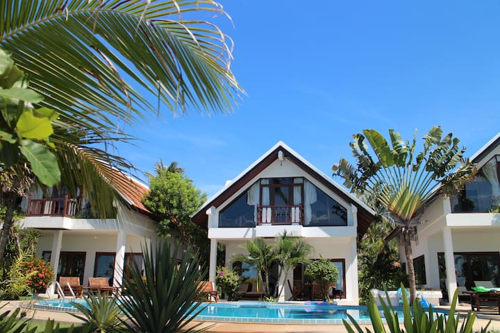 Lovely Beachfront Villas, 2 b'room - Koh Samui - Villa