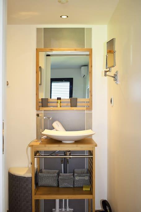 Salle d'eau suite 1