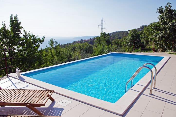 Vacation Home Ivulici! Big garden + seaview! (4+1) - Liganj - House