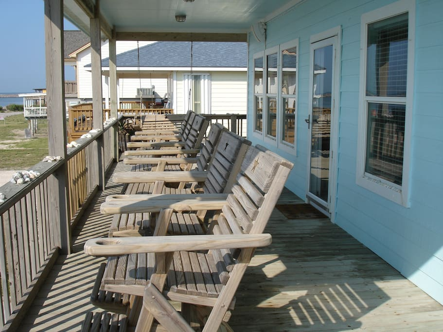 View of Lone  Star Deck Chairs