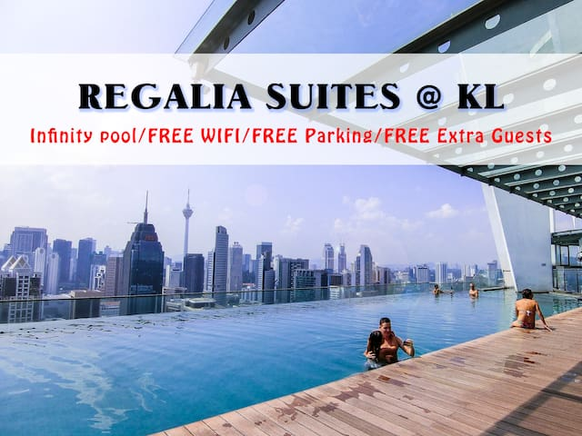 AMAZING REGALIA COZY SUITE@KL, FREE Parking/Guests