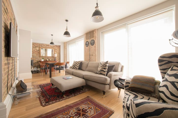 Chic 2-Bed Garden House in Dalston - London - Haus
