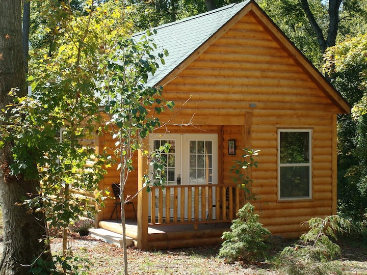 Log Cabin-Ensuite-King-Deluxe Cabin