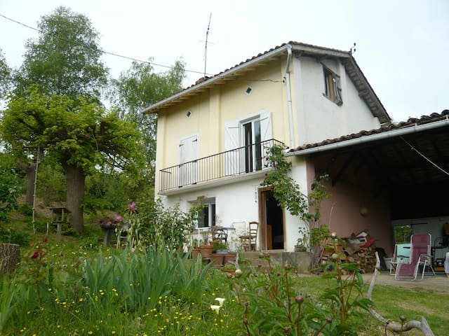 Charmante maison en pleine nature - Lahitère - Casa