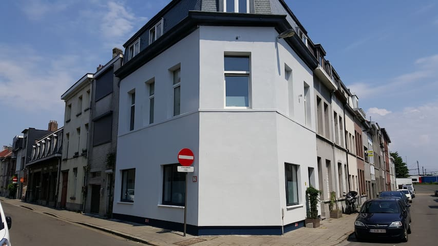 Luxe room next to Park Spoor Noord - Antwerpen - Hus