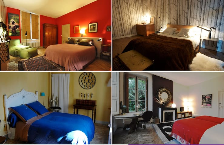 Flamingo Rooms,  4 chambres d'hôtes - Longny-au-Perche - Penzion (B&B)
