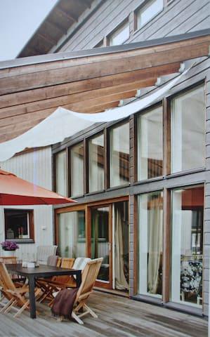 Modern design house full of light - Riihimäki