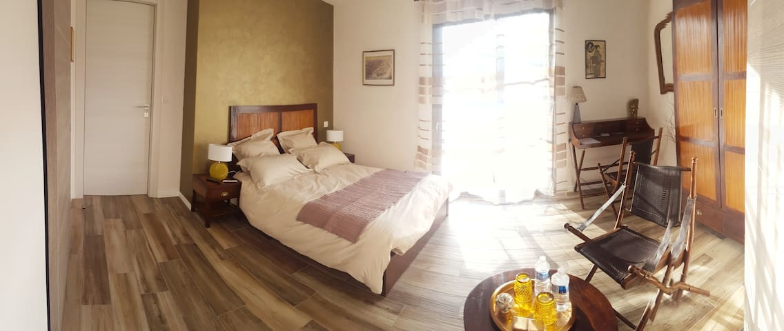 chambre exotique - Vertou - Bed & Breakfast