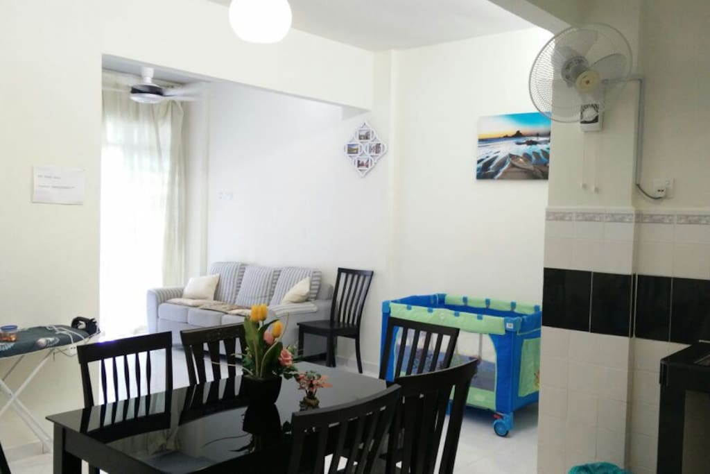 space of apartment