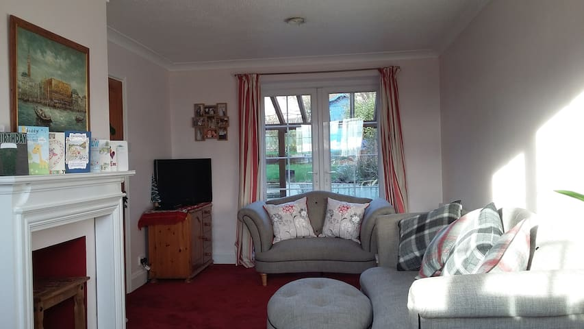 Relax! Double room, welcoming home - Heddon-on-the-Wall - Casa