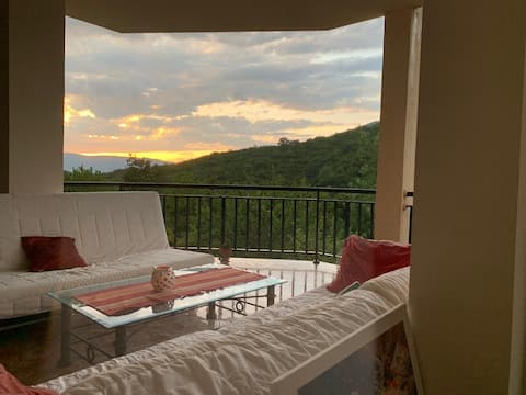 This is a new property with amazing view.