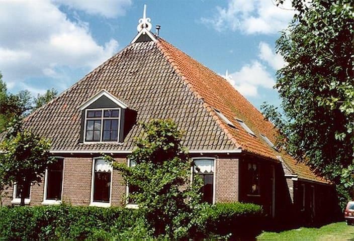 Vakantieboerderij met appartementen - Gaastmeer - Blockhütte