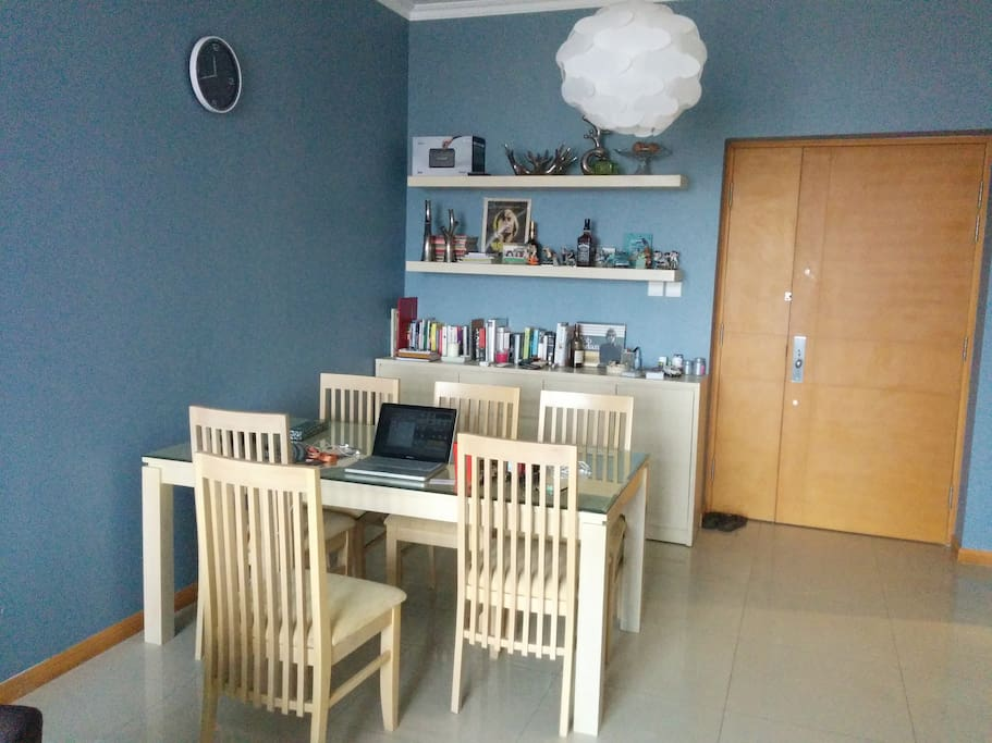Leaving & dinning table room