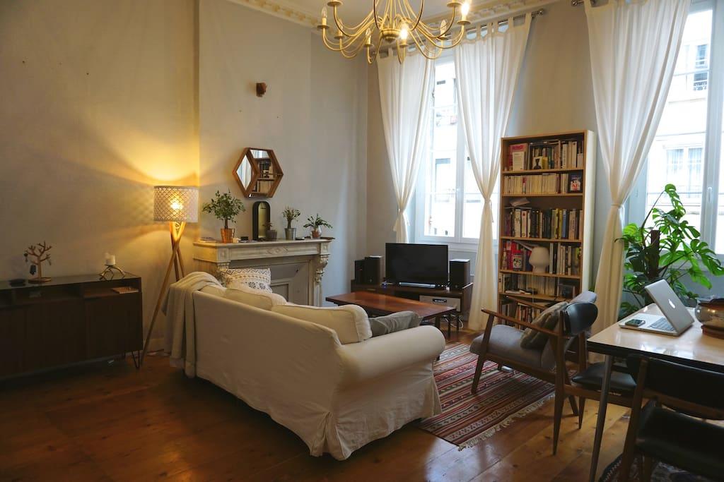 Appartement parking au coeur de bordeaux appartements for Bordeaux appartement a louer