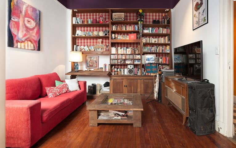 Bright room in beautiful house - Buenos Aires - Apartment