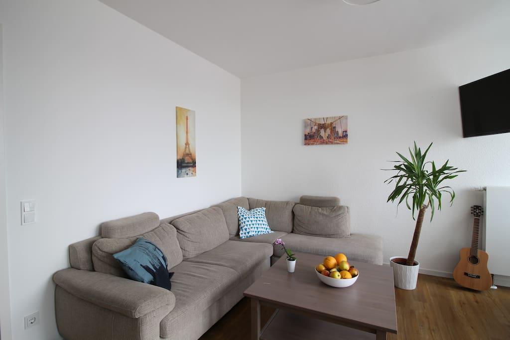 A comfy, soft sofa :)