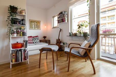 Nice apartment in old movie area - Solna