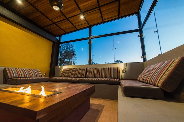 Cozy Private Room at the Heart of San Angel