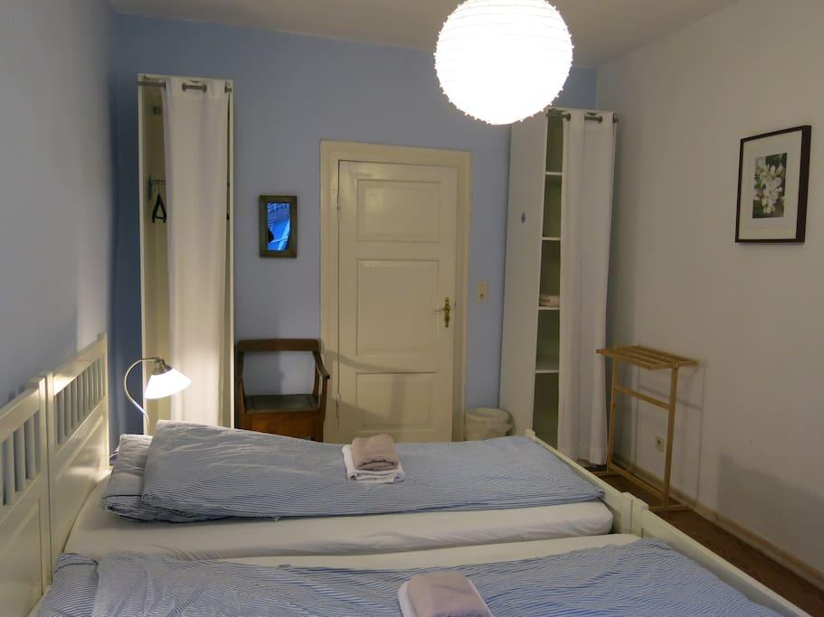 Euer Zimmer mit Blick zur Zimmertür
