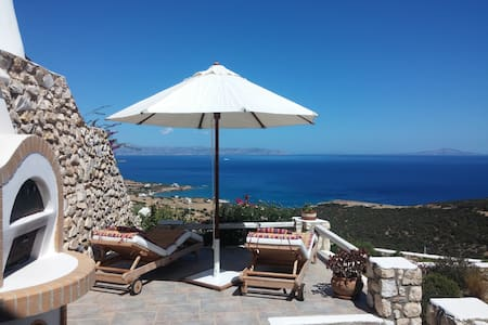 Paros, Tripiti Villa with breathtaking view! - Paros