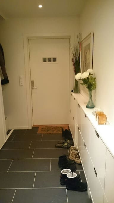 Entrance with wc room