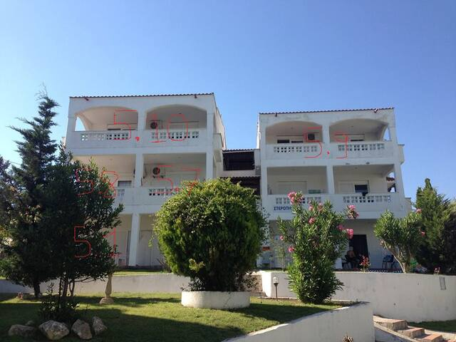 Sea front complex 45m2 apartments 3 - Siviri - Appartement
