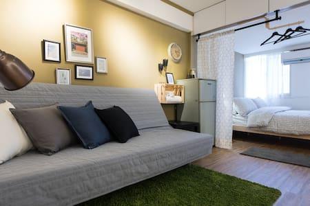 特價中 [西門町]美式房  舒服的窩 JM home - Wanhua District - Apartamento